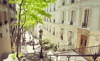 Paris en été hôtel