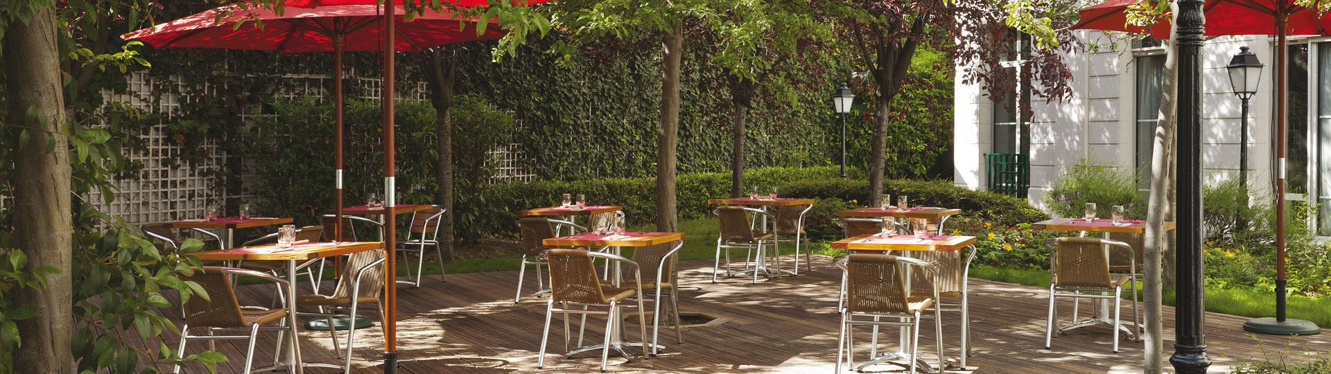 Hotel centre de Paris avec Jardin