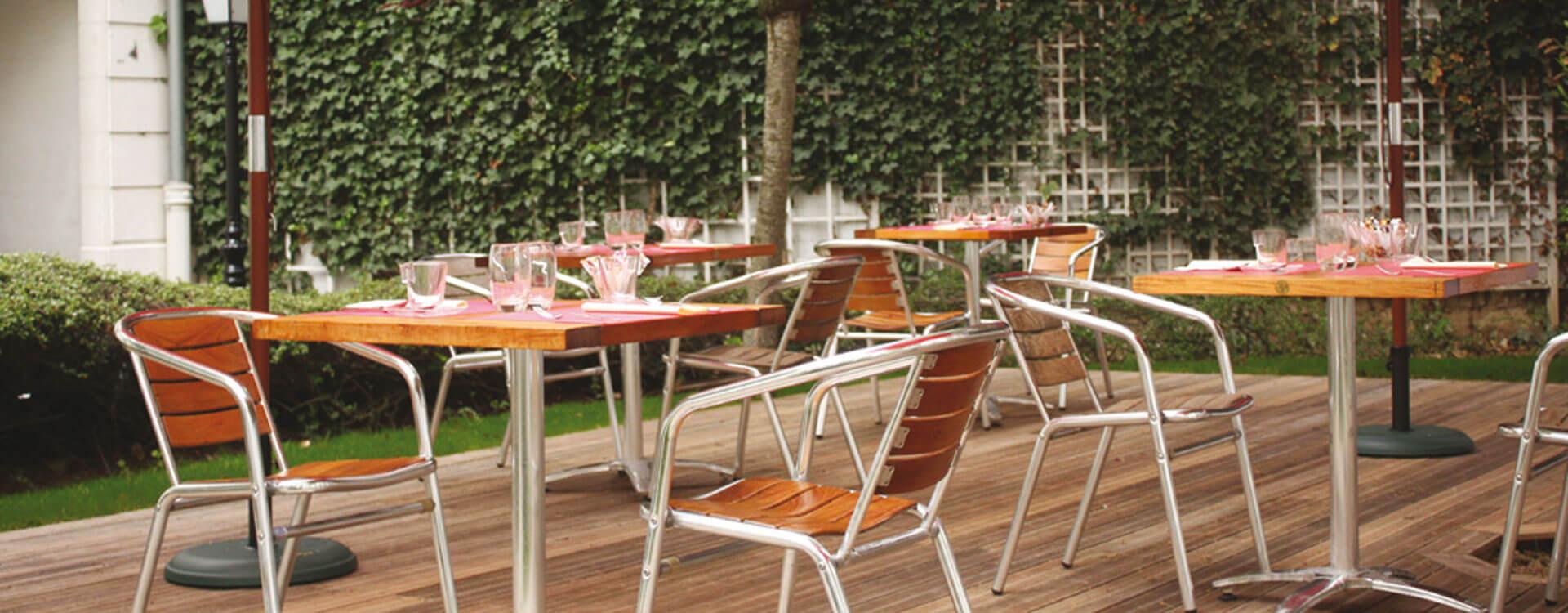 Terrasse - Hôtel*** Paris La Villa Modigliani