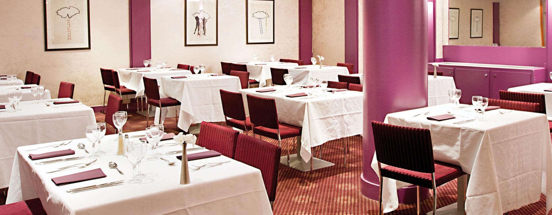 Restaurant - Hôtel*** Paris La Villa Modigliani