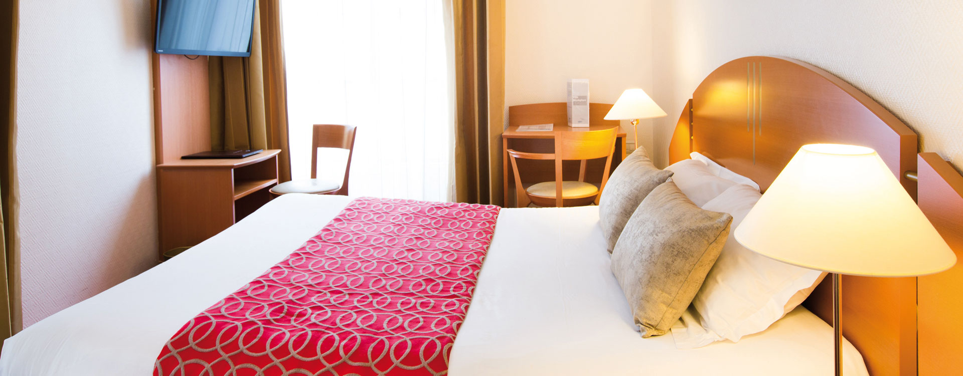 Chambre standard - Hôtel*** Paris La Villa Modigliani
