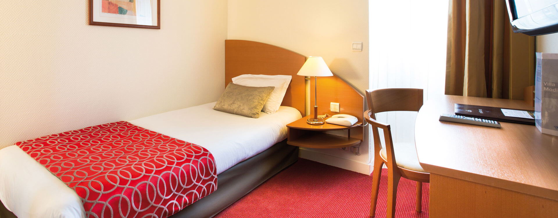 Chambre single - Hôtel*** Paris La Villa Modigliani