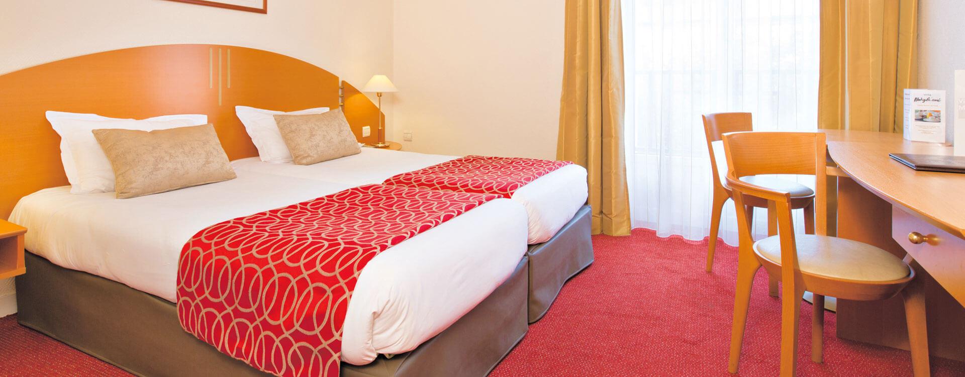 Chambre - Hôtel*** Paris La Villa Modigliani