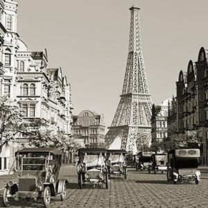 Paris balades voitures anciennes
