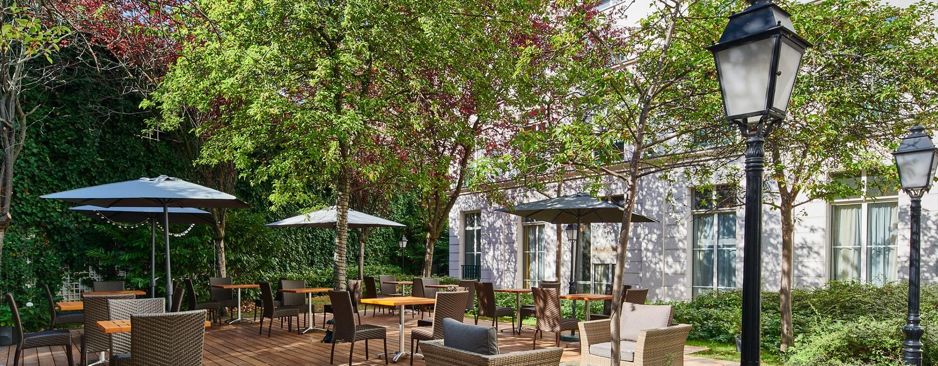 Bar terrasse Villa Modigliani