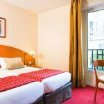 Chambre double hôtel Paris